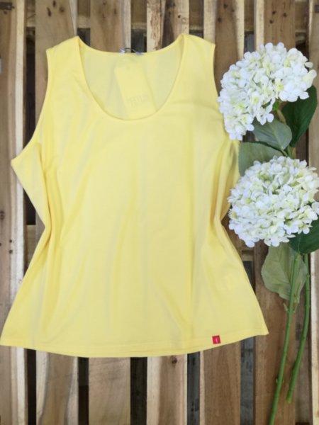Дамски топ в жълто